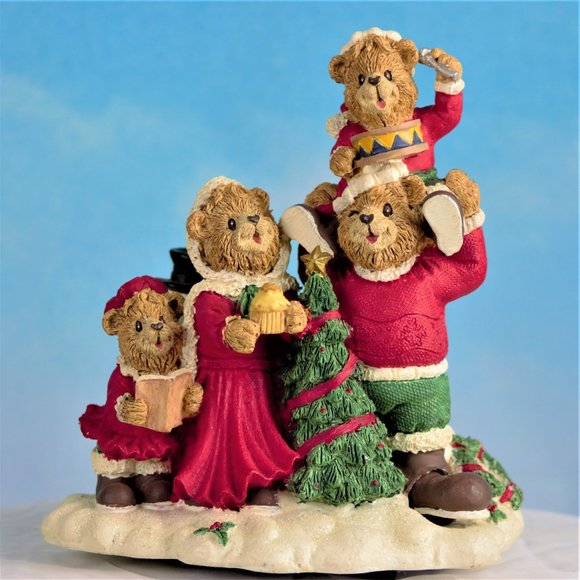 Boyds Bear Collection Vintage Music Box